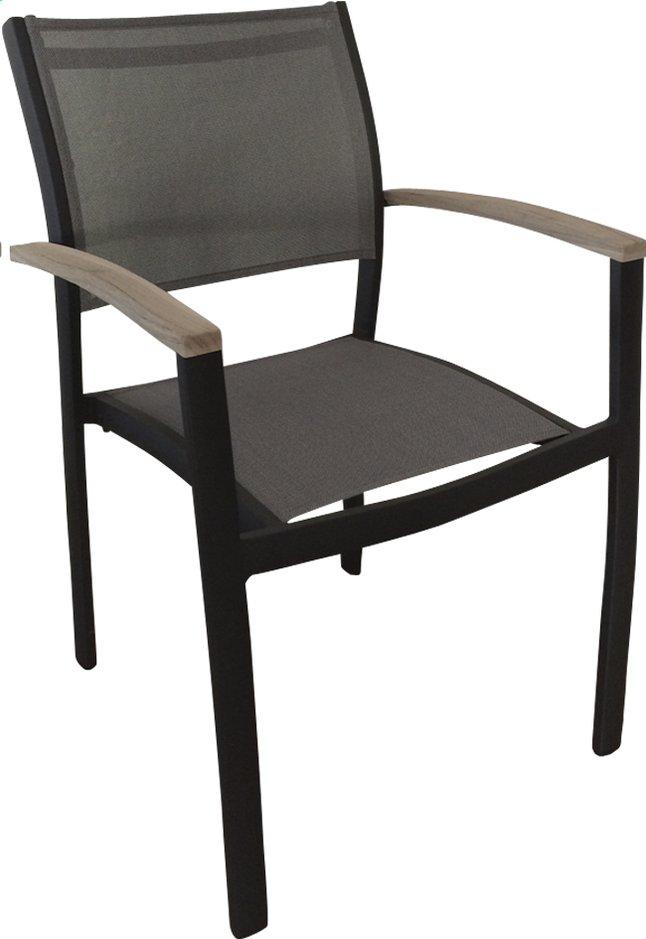Image pour Chaise de jardin Creil gris argenté/anthracite à partir de ColliShop