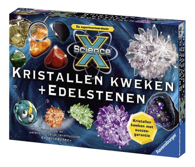 Afbeelding van Ravensburger Science X: Kristallen kweken + Edelstenen from ColliShop