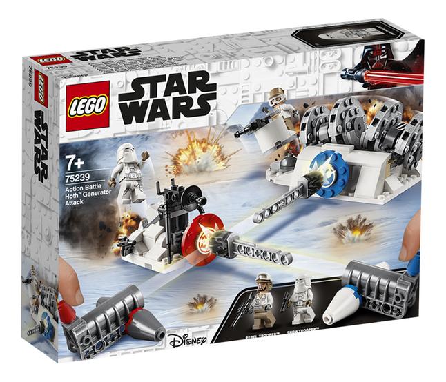 Image pour LEGO Star Wars 75239 Action Battle L'attaque du générateur de Hoth à partir de ColliShop