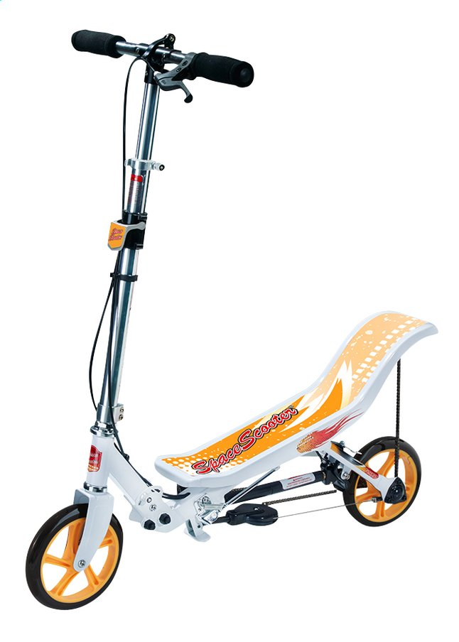 Image pour Trottinette Space Scooter blanc à partir de ColliShop