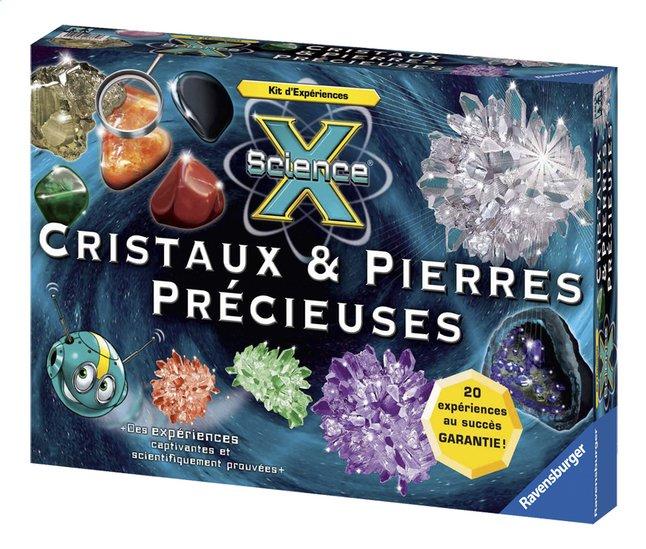 Afbeelding van Ravensburger Science X : Cristaux et pierres précieuses FR from ColliShop