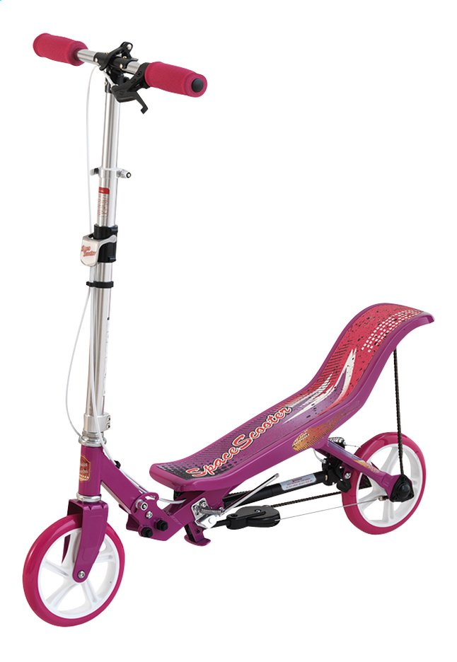 Afbeelding van Step Space Scooter roze from ColliShop