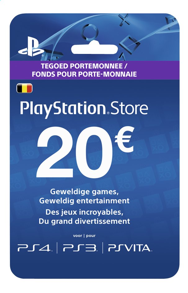 Afbeelding van PlayStation Store Network Card 20 euro from ColliShop