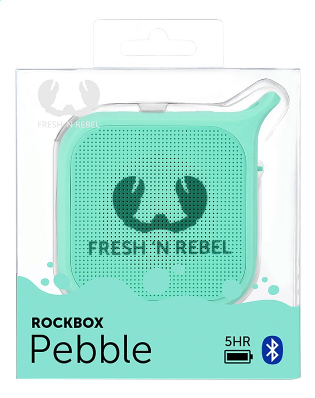Afbeelding van Fresh 'n Rebel Luidspreker bluetooth Pebble Peppermint from ColliShop