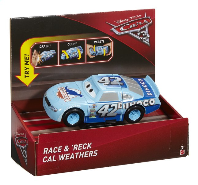 Afbeelding van Auto Disney Cars 3 Race & 'Reck Cal Weathers from ColliShop
