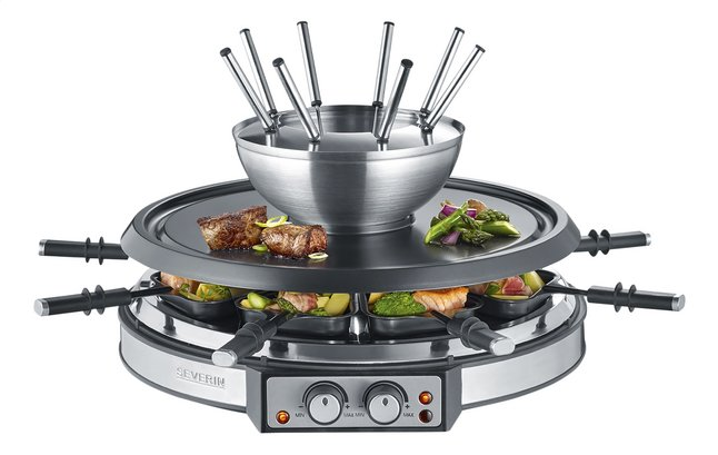 Afbeelding van Severin Raclette-fondue-grill RG2348 from ColliShop