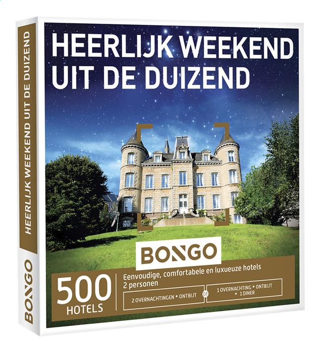 Afbeelding van Bongo Heerlijk weekend uit de duizend from ColliShop