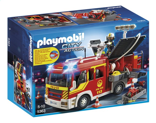 Afbeelding van Playmobil City Action 5363 Brandweer pompwagen from ColliShop