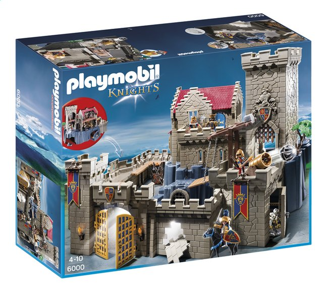Afbeelding van Playmobil Knights 6000 Koningskasteel van de orde van de Leeuwenridders from ColliShop
