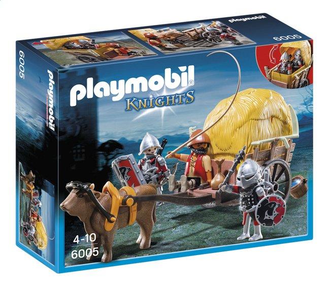 Afbeelding van Playmobil Knights 6005 Camouflage hooiwagen van de Valkenridders from ColliShop