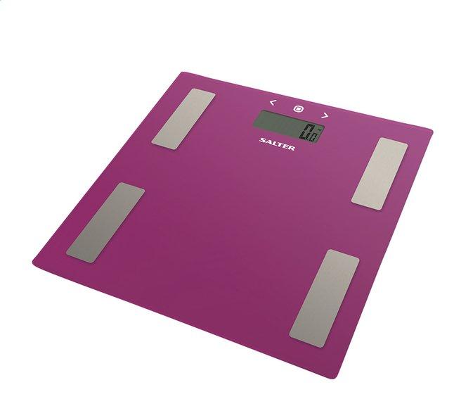 Image pour Salter pèse-personne/impédancemètre Ultra Slim 9150PK3R rose à partir de ColliShop