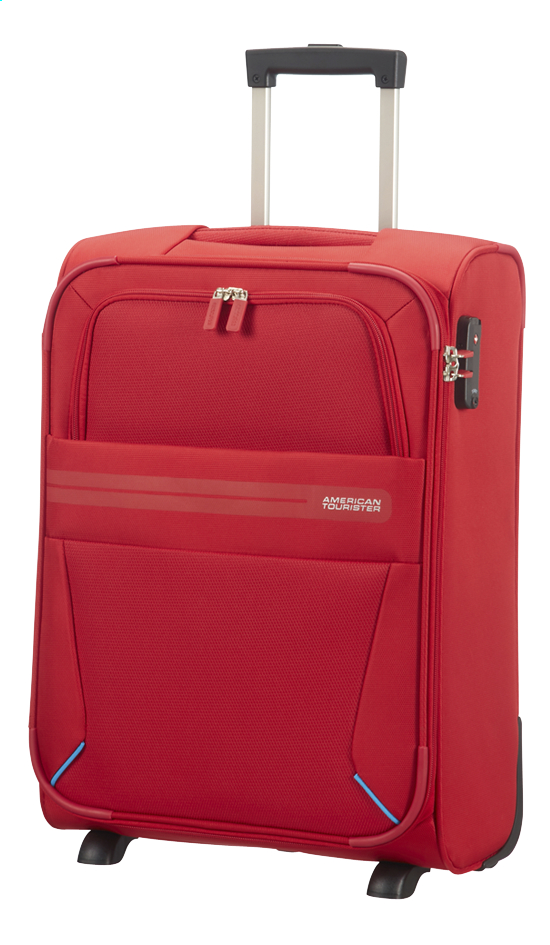 Afbeelding van American Tourister Zachte reistrolley Summer Voyager Upright ribbon red 55 cm from ColliShop