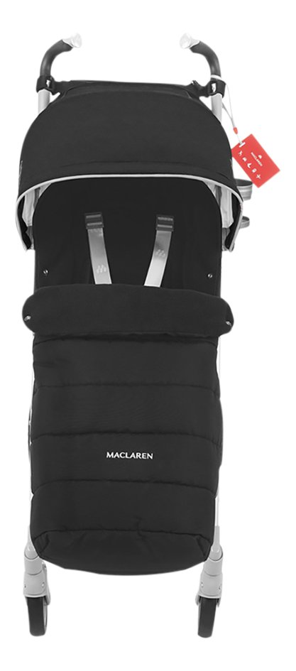 Maclaren Buggy Techno XT black avec Winter Style Set