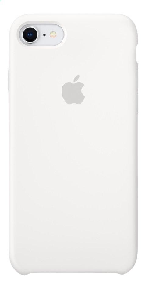Apple coque en silicone pour iPhone 7/8 blanc