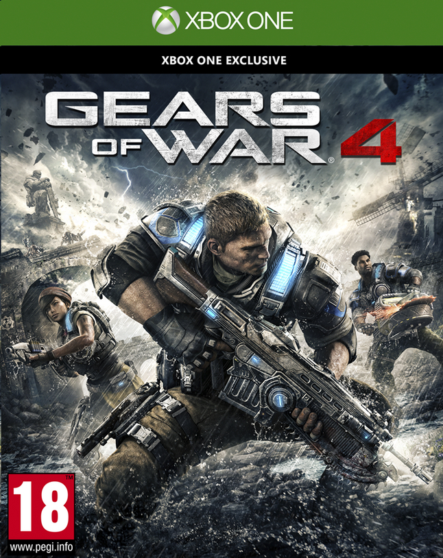 Image pour XBOX One Gears of War 4 FR/ANG à partir de ColliShop