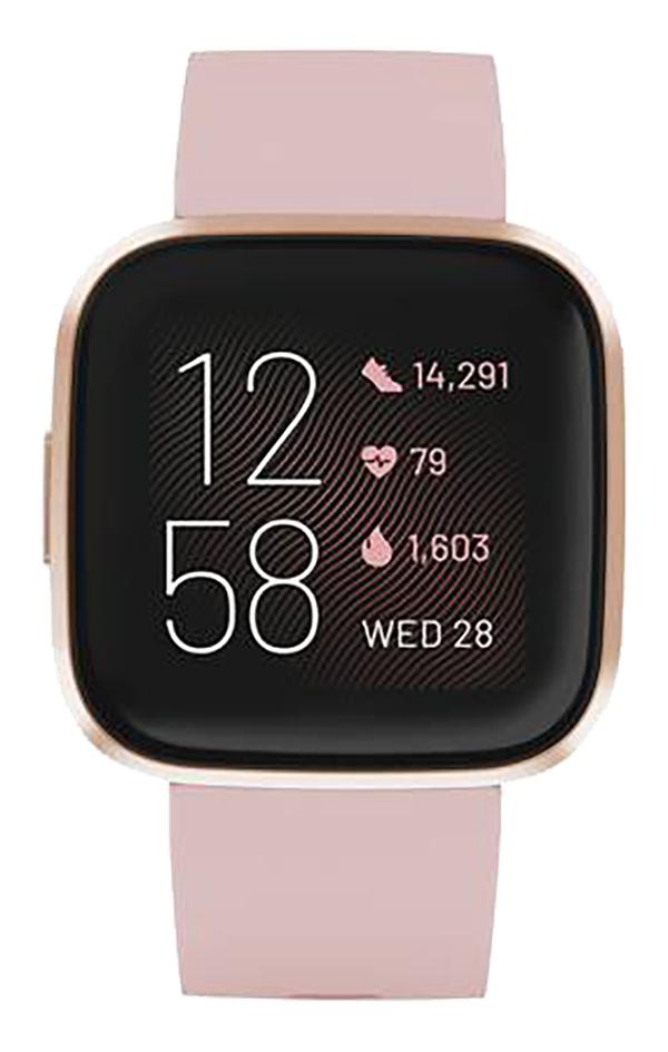 Image pour Fitbit montre connectée Versa 2 rose pétale/rose cuivré à partir de ColliShop