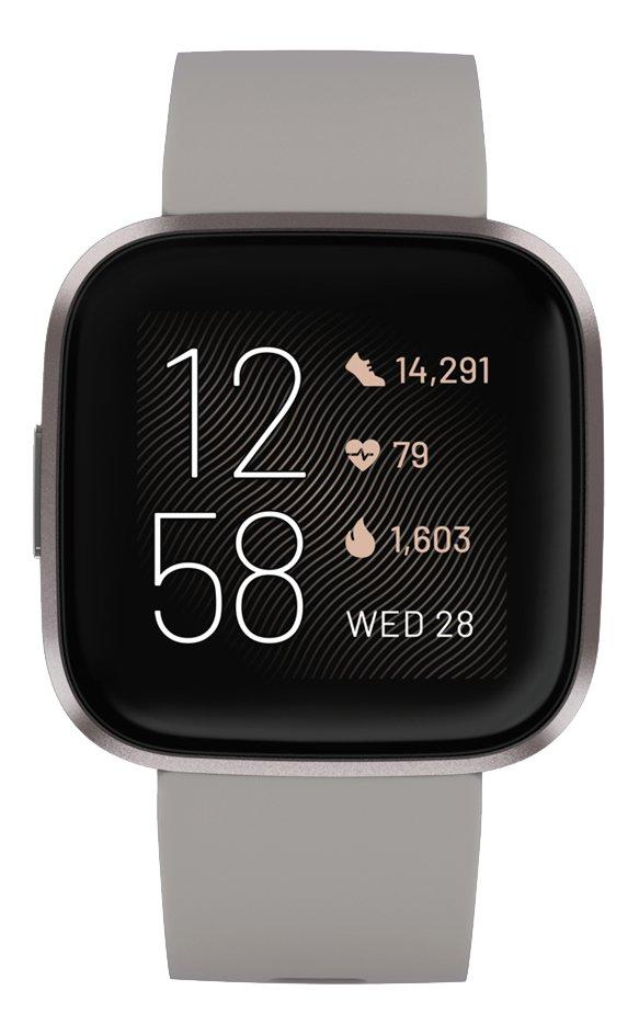 Fitbit smartwatch Versa 2 stone/mist
