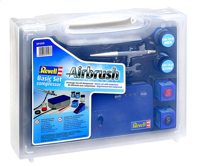 Afbeelding van Revell Airbrush Beginnersset met compressor from ColliShop