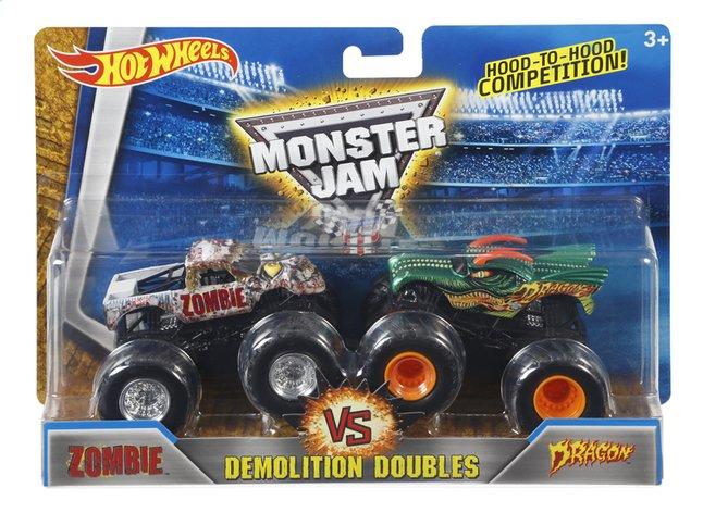 Image pour Hot Wheels Monster Truck Demolition Doubles Zombie VS Dragon à partir de ColliShop