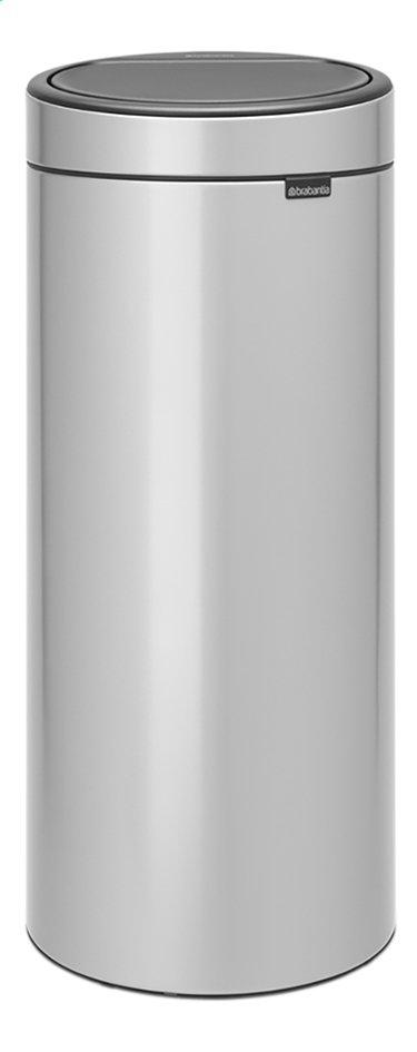 Image pour Brabantia Poubelle Touch Bin New metallic grey 30 l à partir de ColliShop