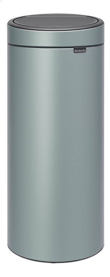 Afbeelding van Brabantia Afvalemmer Touch Bin New metallic mint 30 l from ColliShop