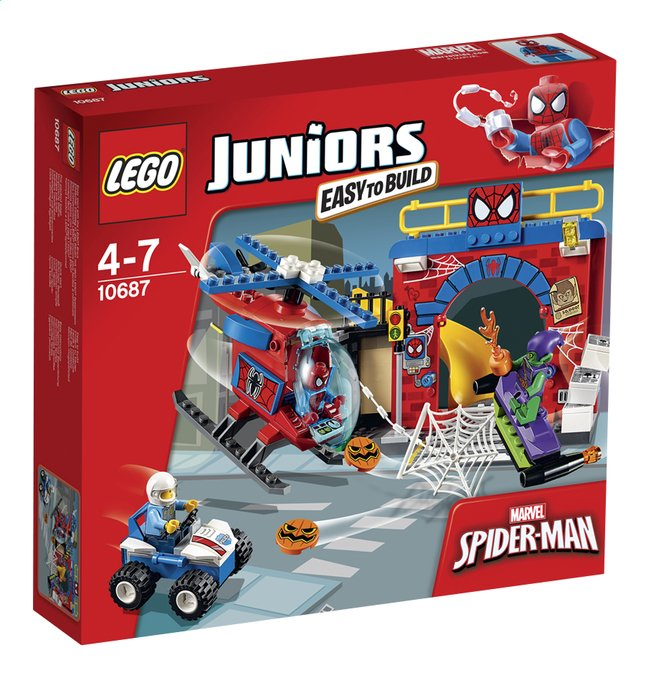 Afbeelding van LEGO Juniors 10687 Spider-Man Schuilplaats from ColliShop