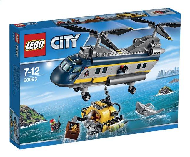 Image pour LEGO City 60093 L'hélicoptère de haute-mer à partir de ColliShop