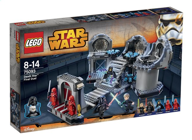 Afbeelding van LEGO Star Wars 75093 Death Star Final Duel from ColliShop