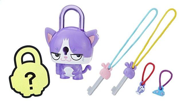 Afbeelding van Figuur Lock Stars Purple Cat from ColliShop