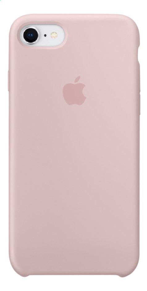 Apple coque en silicone pour iPhone 7/8 Rose des sables