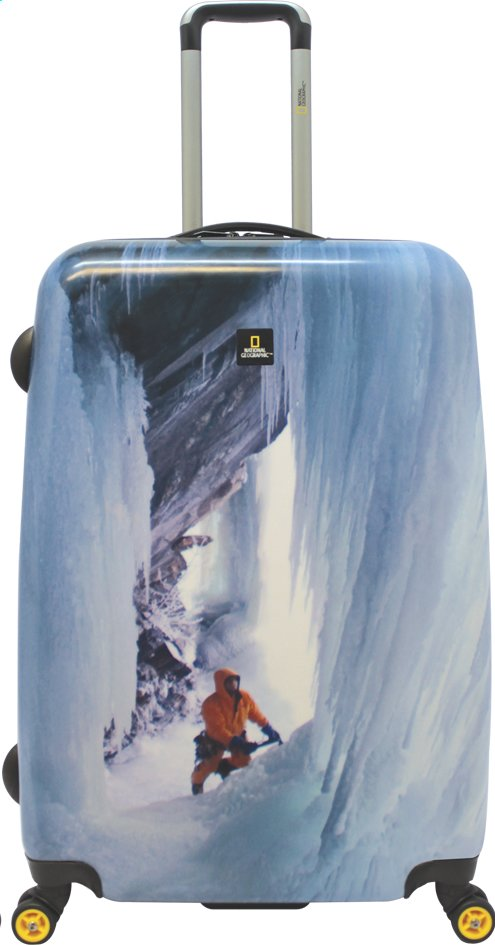 Afbeelding van National Geographic Harde reistrolley Ice Climber Spinner 80 cm from ColliShop