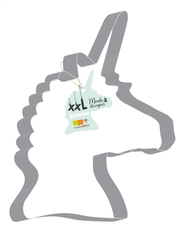 Afbeelding van ScrapCooking Uitsteekvorm Unicorn Cutter XXL from ColliShop