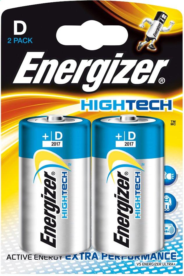 Afbeelding van Energizer 2 D-batterijen High tech from ColliShop
