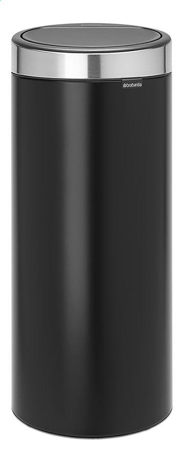 Afbeelding van Brabantia Afvalemmer Touch Bin New matt black/inox 30 l from ColliShop