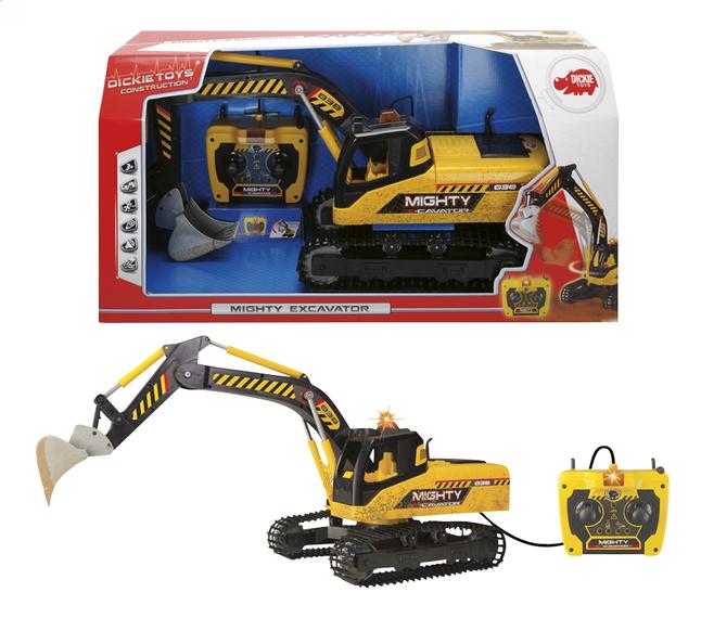 Afbeelding van Dickie Toys constructievoertuig Mighty Excavator from ColliShop