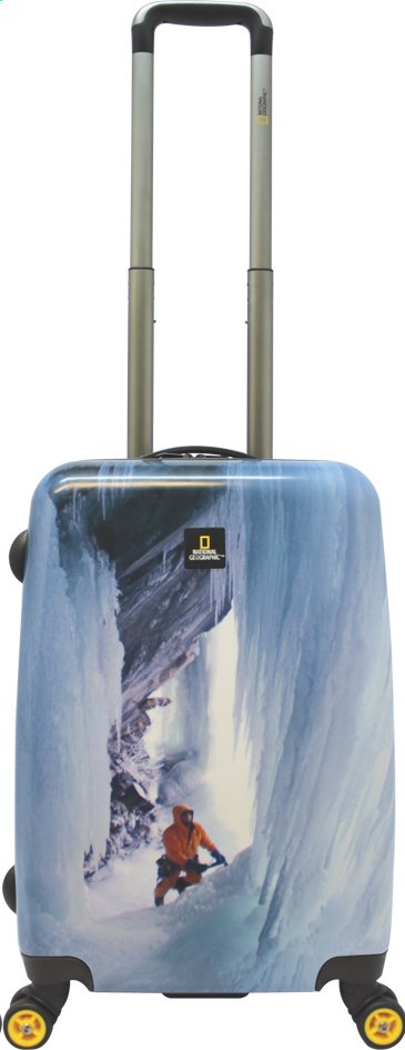 Afbeelding van National Geographic Harde reistrolley Ice Climber Spinner 53 cm from ColliShop