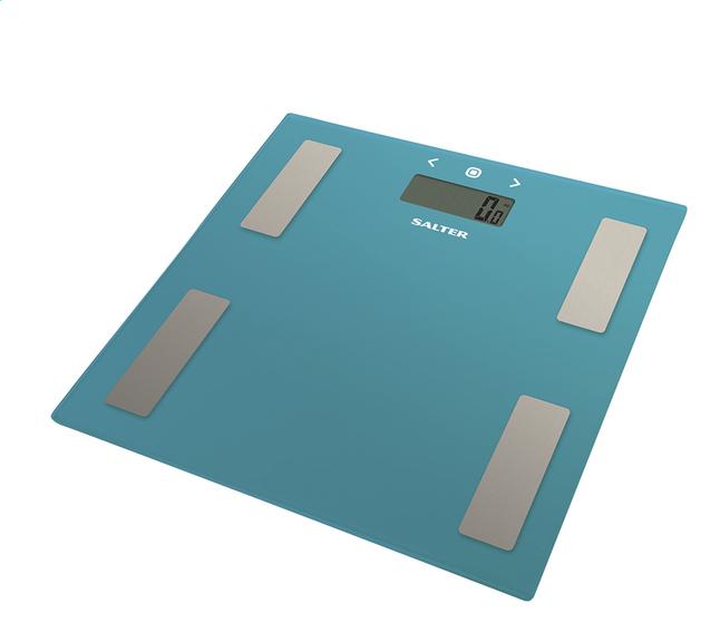 Image pour Salter pèse-personne/impédancemètre Ultra Slim 9150TL3R turquoise à partir de ColliShop