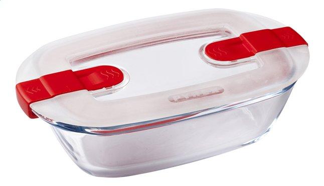 Pyrex Plat à four/boîte de conservation rectangulaire Cook & Heat L 17 x Lg 10 cm