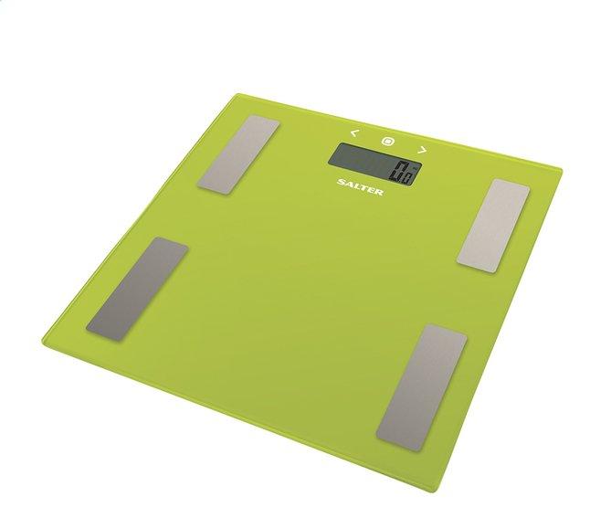 Image pour Salter pèse-personne/impédancemètre Ultra Slim 9150GN3R vert à partir de ColliShop
