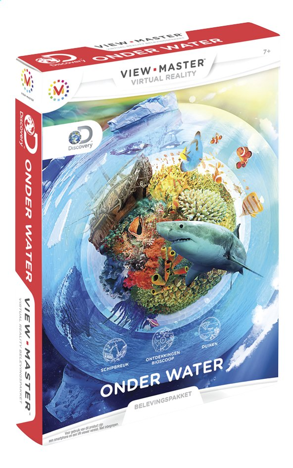 Afbeelding van View-Master Virtual Reality Experience Pack Onder Water from ColliShop