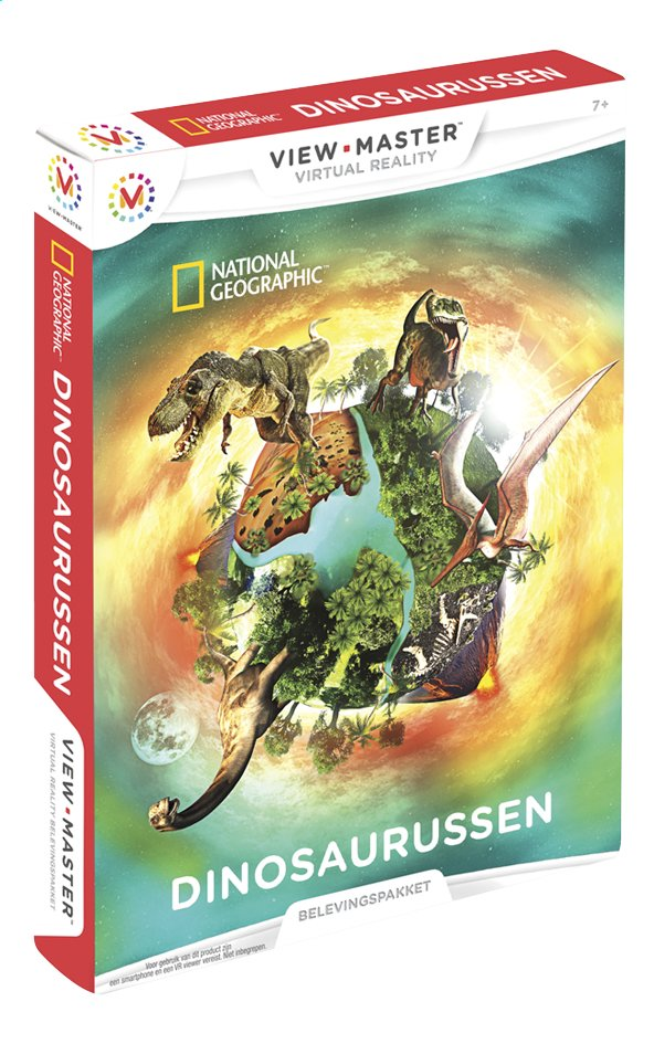 Afbeelding van View-Master Virtual Reality Experience Pack Dinosaurussen from ColliShop