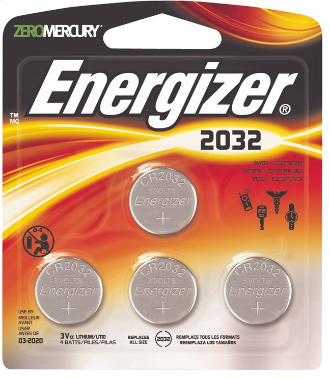 energizer 4 piles bouton cr2032 collishop. Black Bedroom Furniture Sets. Home Design Ideas