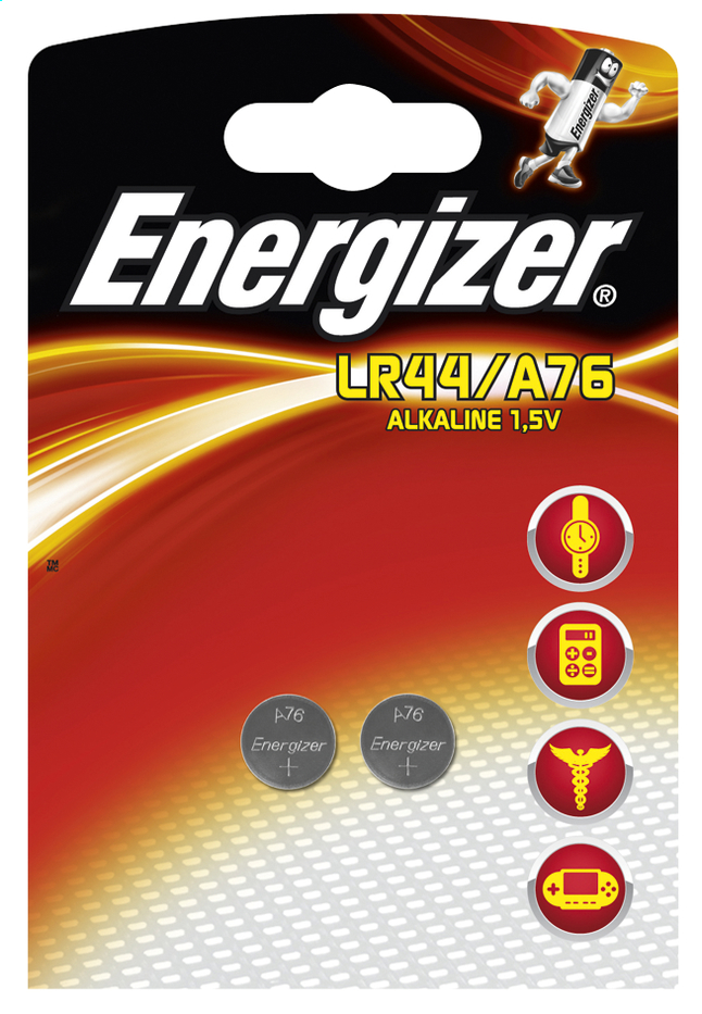 Afbeelding van Energizer 2 LR44-knopcelbatterijen from ColliShop