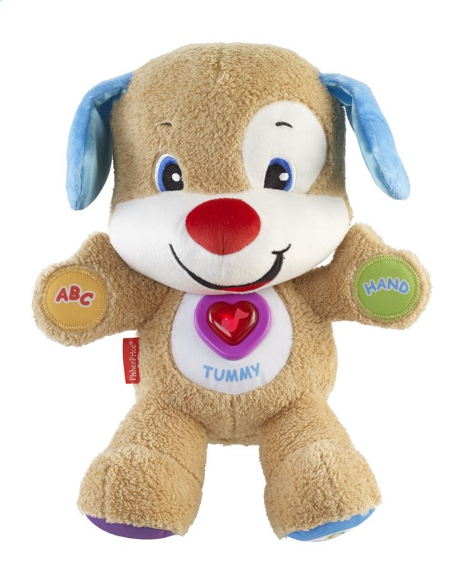 Afbeelding van Fisher-Price interactieve knuffel Laugh and Learn Smart Stages Puppy from ColliShop