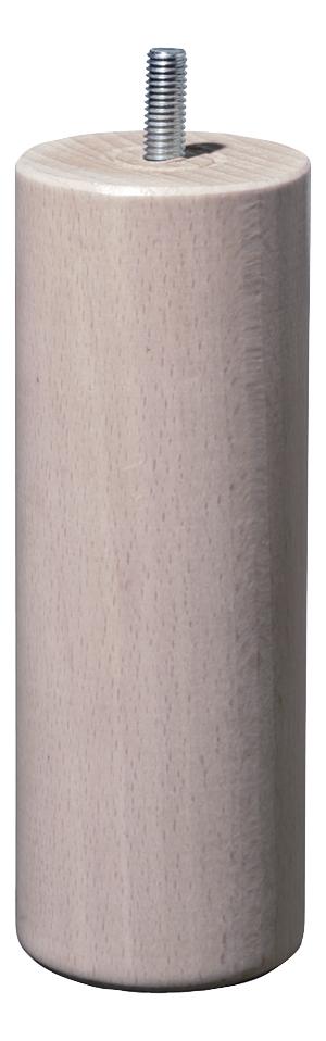 Image pour Set de 4 pieds 23 cm naturel pour sommiers à lattes VitenzA à partir de ColliShop