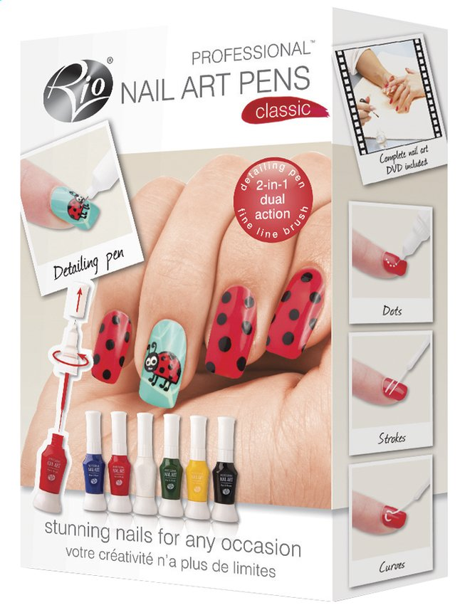 Afbeelding van Rio Professional Nail Art Classic from ColliShop