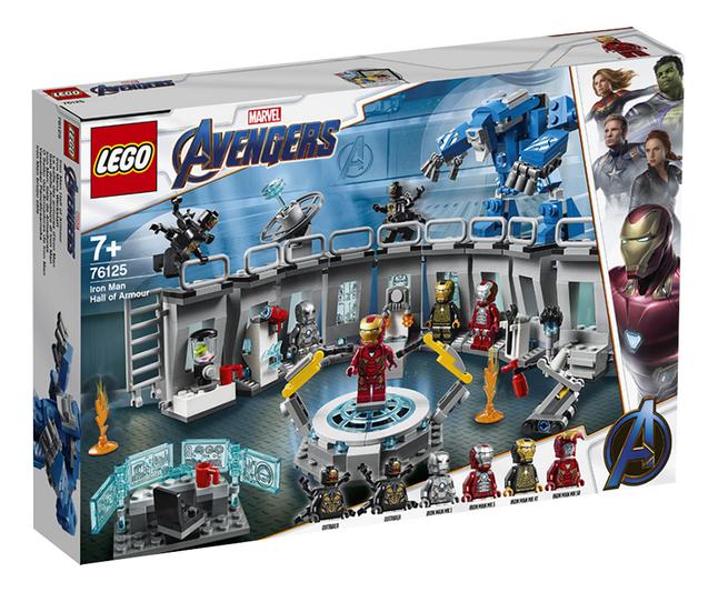 Image pour LEGO Super Heroes 76125 La salle des armures d'Iron Man à partir de ColliShop
