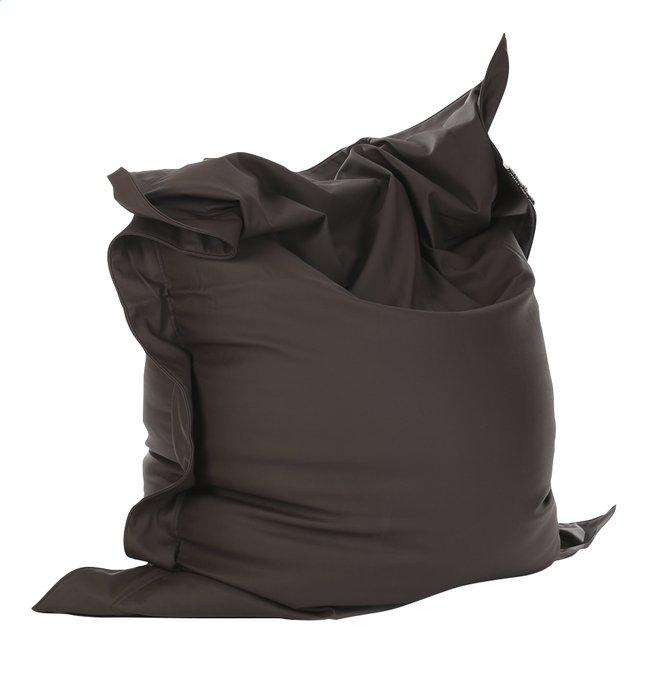 Image pour Pouf Beanbag aspect cuir noir à partir de ColliShop