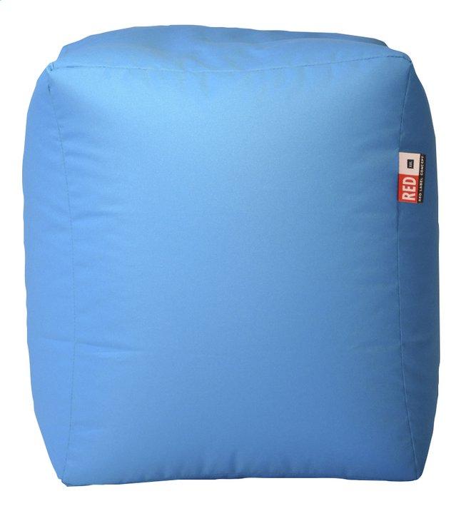 Image pour Pouf Cube turquoise à partir de ColliShop