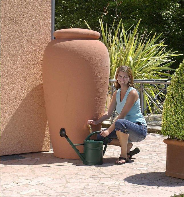 Afbeelding van Garantia Regenton Amfoor terracotta 500 l from ColliShop